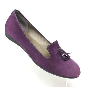 ECCO Touch 15 Tassel Loafer Purple Flat Size 40
